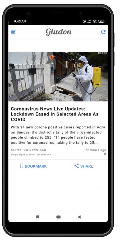 gludon the news app